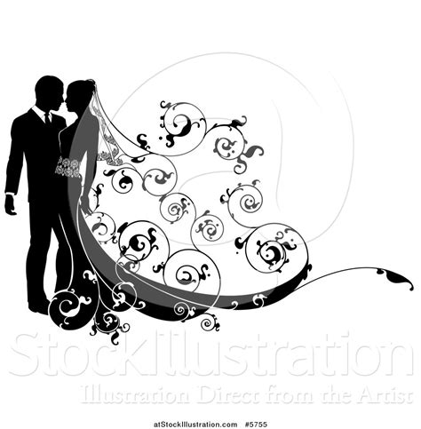 Wedding Black And White Clipart by Wedding Silhouette Clip 33
