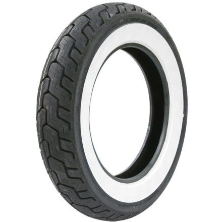 Harley Davidson Rear Tire by Dunlop Harley Davidson D402 Whitewall Rear Tire Motosport