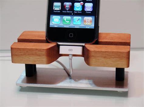 techstands handmade iphone dock gadgetsin