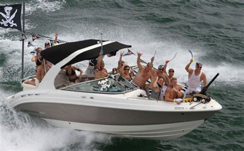 lake lanier party boat this year s must attend poker run pirates of lanier