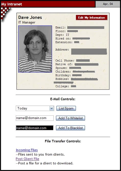 employee profile template best photos of company employee profile sle employee