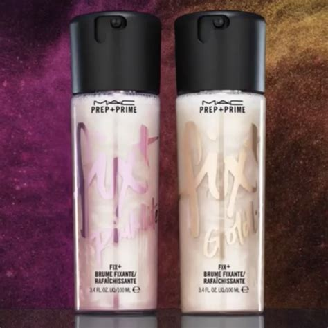 Mac Prep Prime Spray 100ml m a c launches goldlite and pinklite prep prime fix