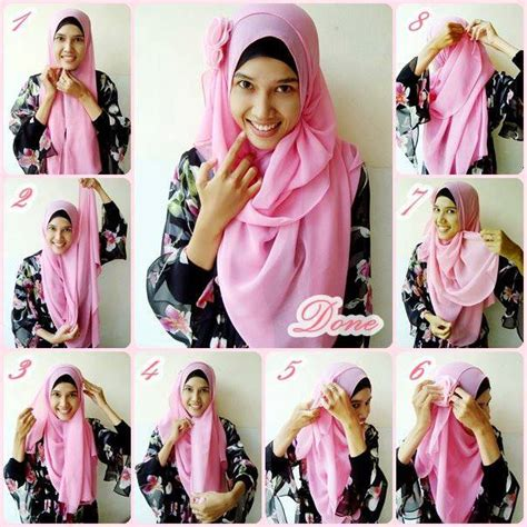 hijab tutorial everyday simple hijab 2014 50 trendy hijab styles tutorial of 2013 27 dha today