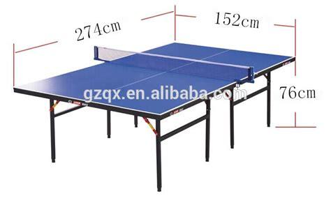 altezza tavolo ping pong pieghevole altezza densit 224 di fibra di legno tavolo da