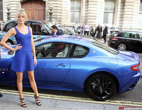 maserati woman world renown supermodels treated to maserati rides at quot the