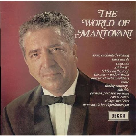 mantovani and his orchestra the world of mantovani by mantovani and his orchestra lp