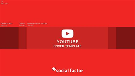 2560x1440 template cover template social factor