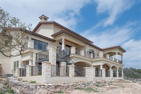 custom house builders luxury custom home texas hill country custom home