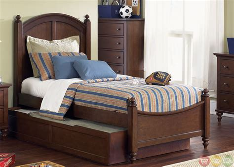 twin trundle bed set abbott ridge youth traditional panel trundle bedroom set