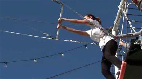 jenn swing jenn sterger swings by trapeze school latest news videos
