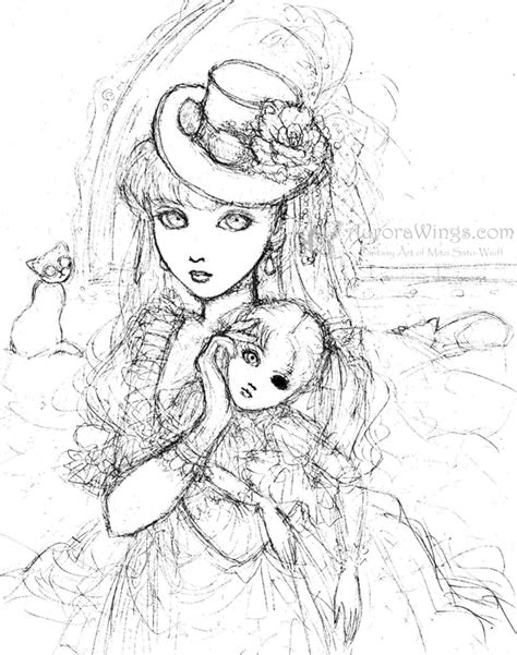 coloring pages dark angel steunk coloring pages anime dark angels coloring