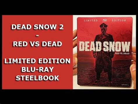 unboxing annie 2014 film version blu ray youtube dead snow 2 red vs dead limited blu ray steelbook