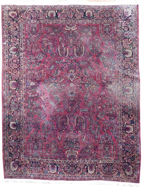 9 x 11 rug 9 x 11 handmade semi antique sarouk rug ebay
