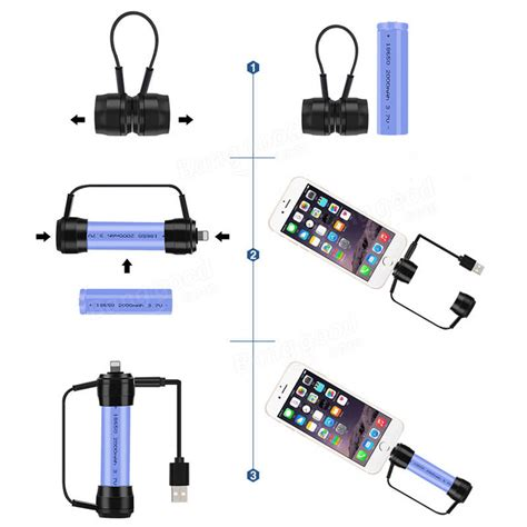 Sale Charger Baterai 18650 Portable Micro Usb 1 Slot Black Y2552 xanes xc01 mini magnetic emergency charger portable usb