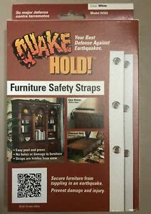furniture safety wall strap kit earthquake child safety