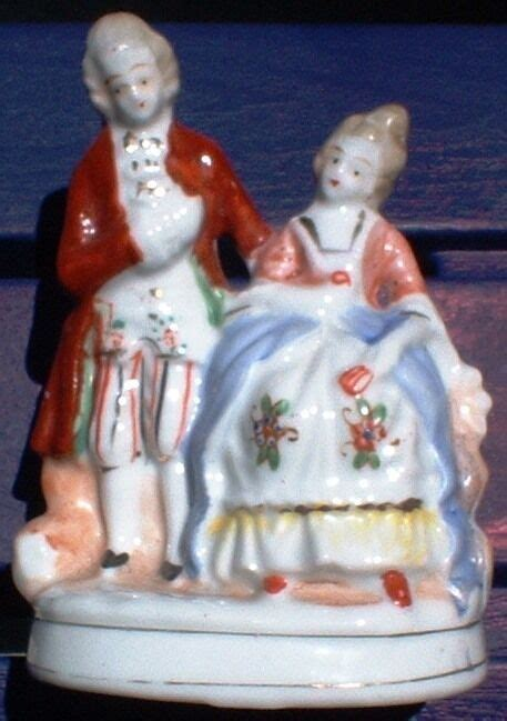 occupied japan colonial figurines double figures ebay