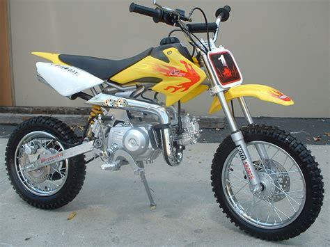 dirt bike 110cc rocket semi auto dirt bike