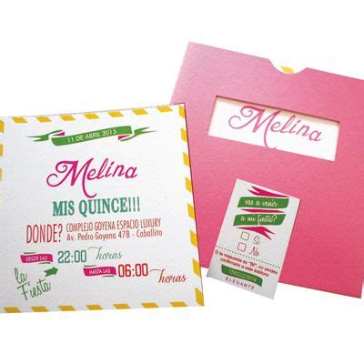 tarjetas on pinterest 15 anos wedding invitations and invitations tarjetas de 15 a os colores 15 a 241 os pinterest