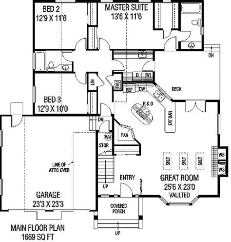 Home Exterior Design Pdf | nostalgic exterior home design 7877ld 1st floor master