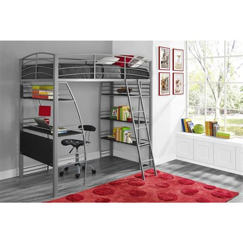 Bunk Bed Studio Dhp Studio Loft Bed 4016427 The Home Depot