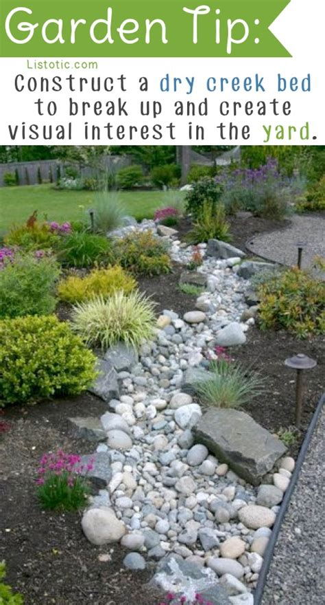 garden tips river rock garden simple river rock foundation plating