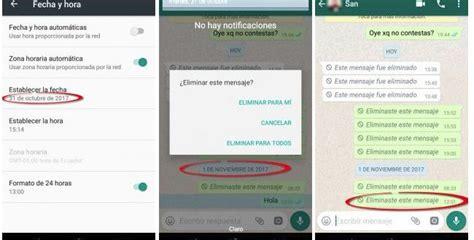 imagenes whatsapp borrar trucos whatsapp eliminar mensajes de whatsapp de hasta 7