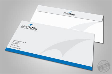 corporate envelope template design portfolio corporate id discretelogix
