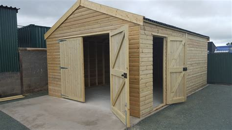 Bespoke Sheds Uk by Bespoke Garages Storage Denbigh Timber Products