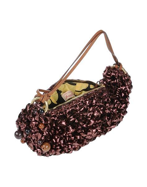 Louvre Hobo Bag Sylva Maroon jamin puech shoulder bag in purple lyst