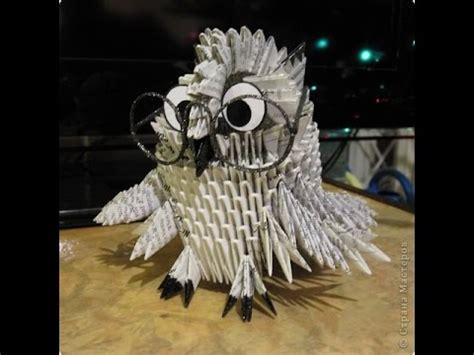 Modular Origami Owl - modular origami smart owl master class