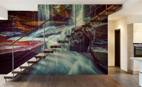 Fototapete Mit Tiefenwirkung by Fototapeten Wasserfall Gr 246 223 E Der Wand Myloview De