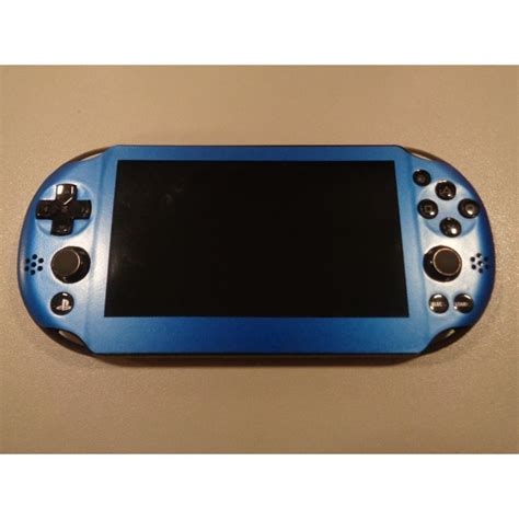 ps vita slim colors ps vita slim skin gloss metallic blue playstation customs