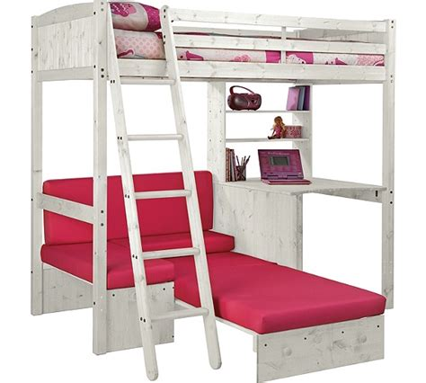 Classic High Sleeper With Sofa Bed Buy Classic High Sleeper With Sofa Bed Mattress