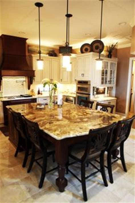 granite top island kitchen table kitchens on 115 pins