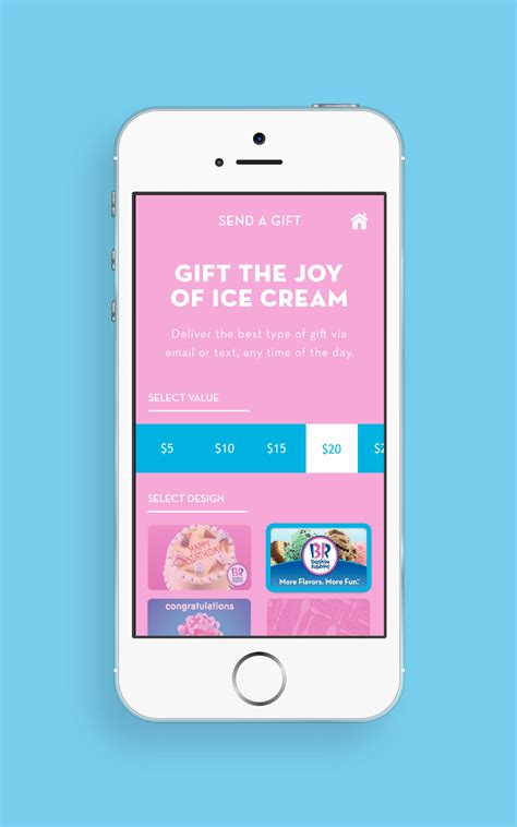 new app mobile baskin robbins launches new mobile app available for