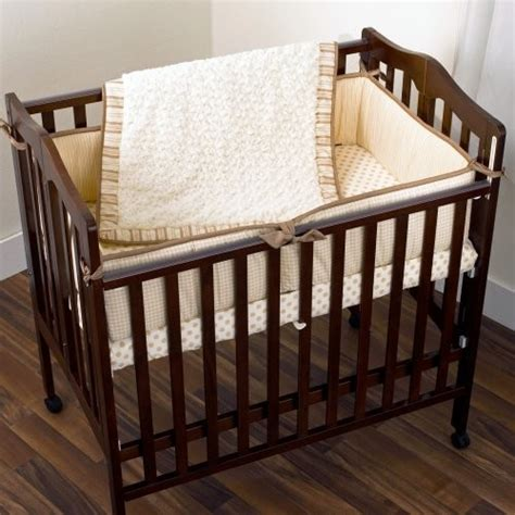 Cocalo Snickerdoodle Porta Mini Crib Set Contemporary Porta Crib Bedding Set
