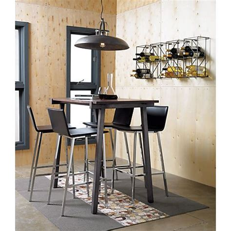 vice high dining table cb2 kitchen island table ideas