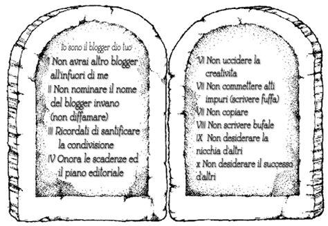 le tavole dei comandamenti i 10 comandamenti