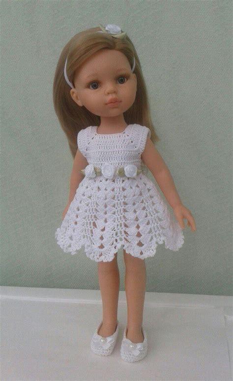 Dress Rajut 7 277 best dolls crochet fashion c p images on crochet dresses and american