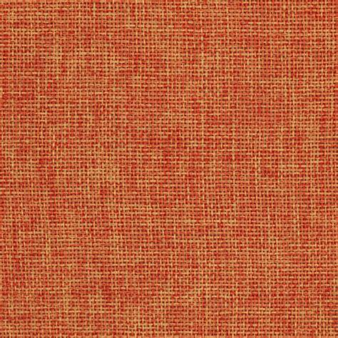 upholstery burlap vintage poly burlap orange fabric