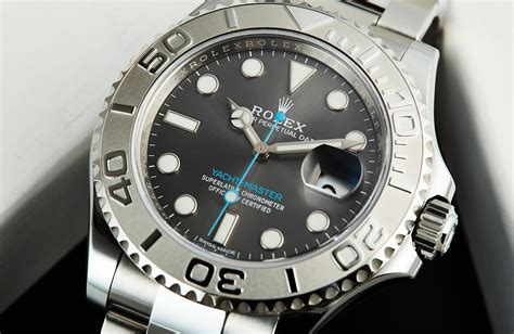 talk to me about the rolex yachtmaster rhodium dial - Yacht Master Rhodium