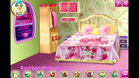 decorated bedrooms games barbie decoration games house decoration game barbie decorating room game youtube