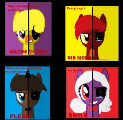 Mlp fnaf crossover crappy quotes by my dog named hank on deviantart