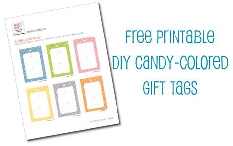 printable gift tags diy hello good gravy free printable diy candy colored gift