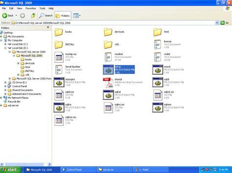 setup xp bat cara menginstall microsoft sql server 2000 di windows xp