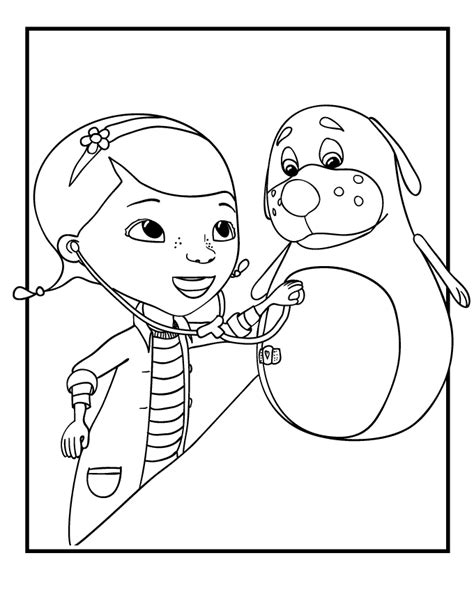 full page doc mcstuffins coloring pages free coloring pages of doktor mcstuffins