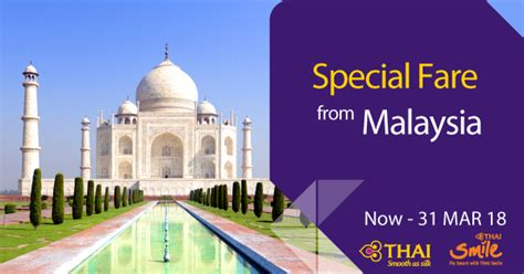 special fare from malaysia promotions thai airways