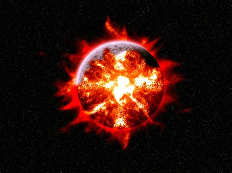 earth explosion wallpaper what would happen if the sun went supernova