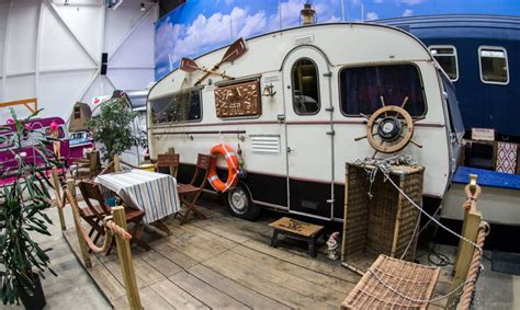 indoor campground hostel hosts vintage rvs  rooms
