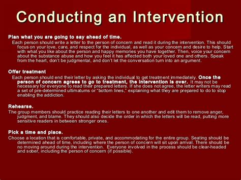 intervention letter to son how to write a drug intervention letter